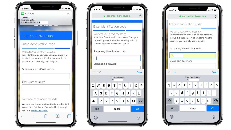 Nhà nghiên cứu bày tỏ lo ngại về tính năng tự động điền mã bảo mật mới của iOS 12