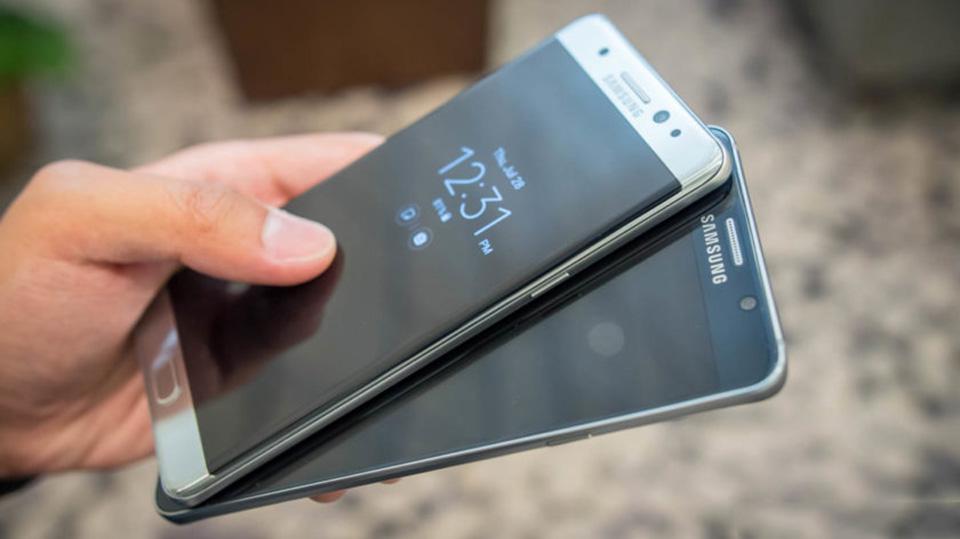 Cấu hình giữa Samsung Galaxy Note 7 và Note 5