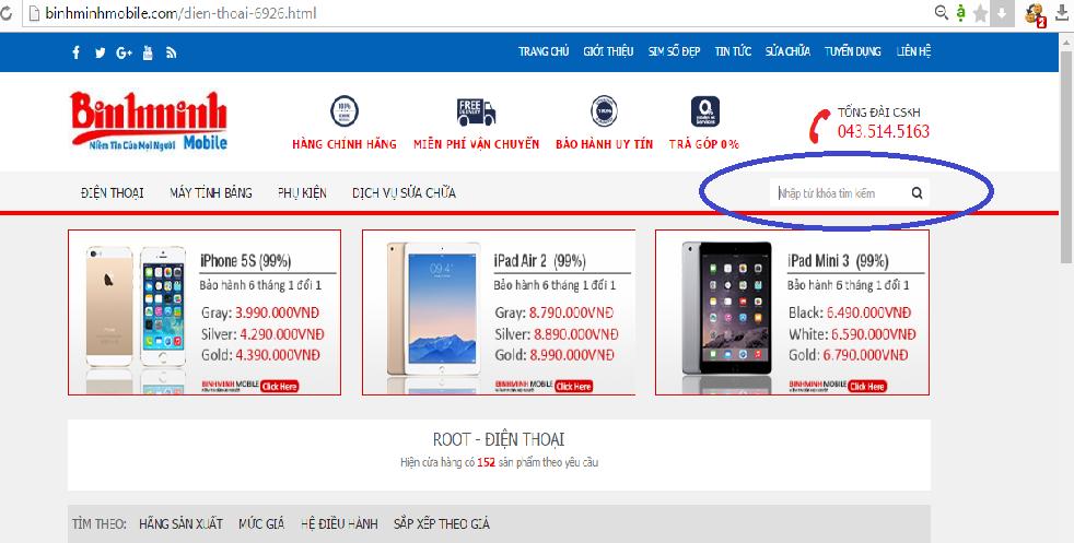 Hướng dẫn mua hàng tại Bình Minh Mobile