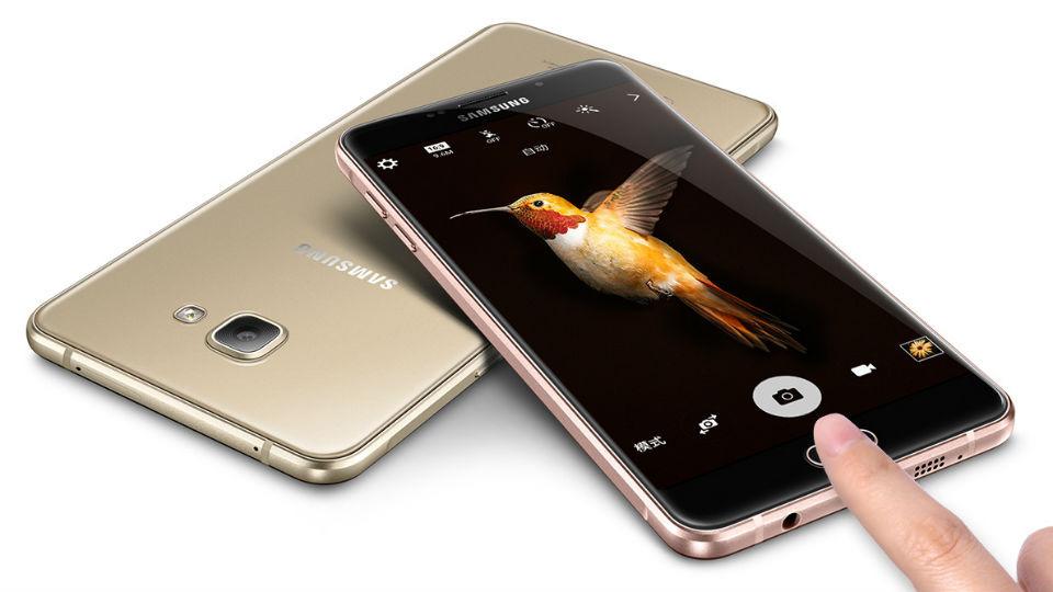 Samsung Galaxy A9pro với màn hình khủng