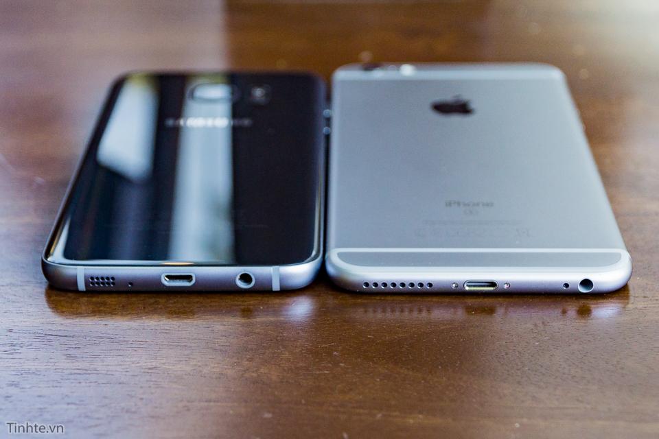 So sánh giữa Iphone 6s Plus và Samsung Galaxy S7 Edge