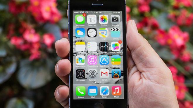 Iphone 5 không được update IOS 11