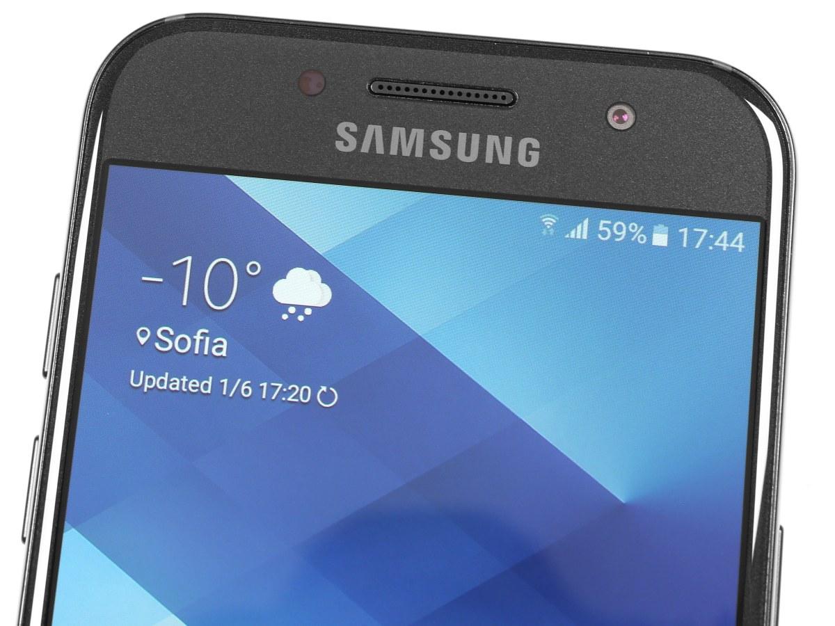 Samsung galaxy A3 2017 - màn hình to