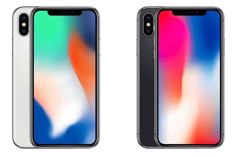 màu sắc iPhone X