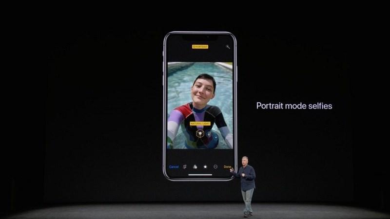 tính năng selfie mới trên camera iphone x