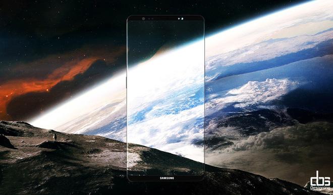 Galaxy Note 8 được ra mắt sẽ có giao diện màn hình mới