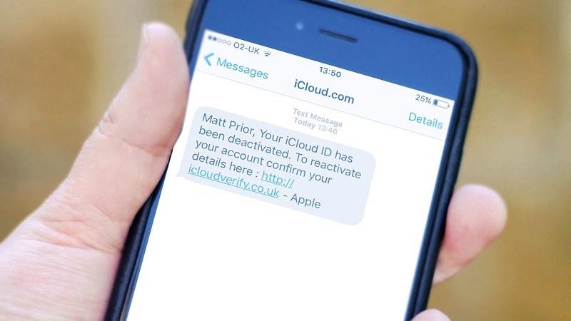 tin nhắn lừa đảo