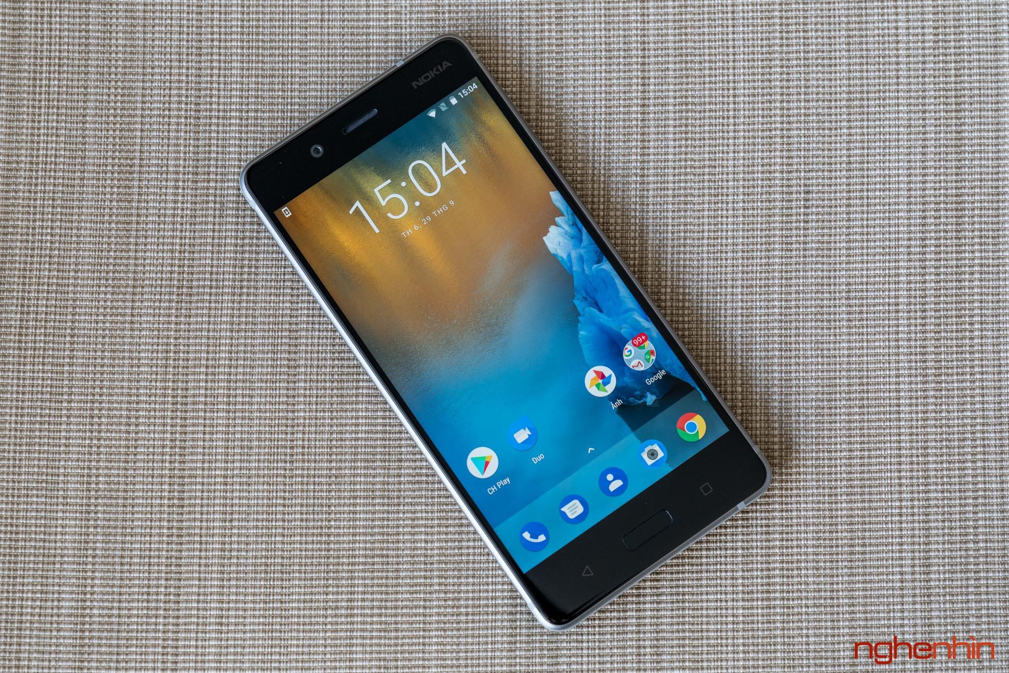 Mở hộp Nokia 8 chính hãng: hoàn thiện cao cấp, camera kép ống kính Zeiss ảnh 12