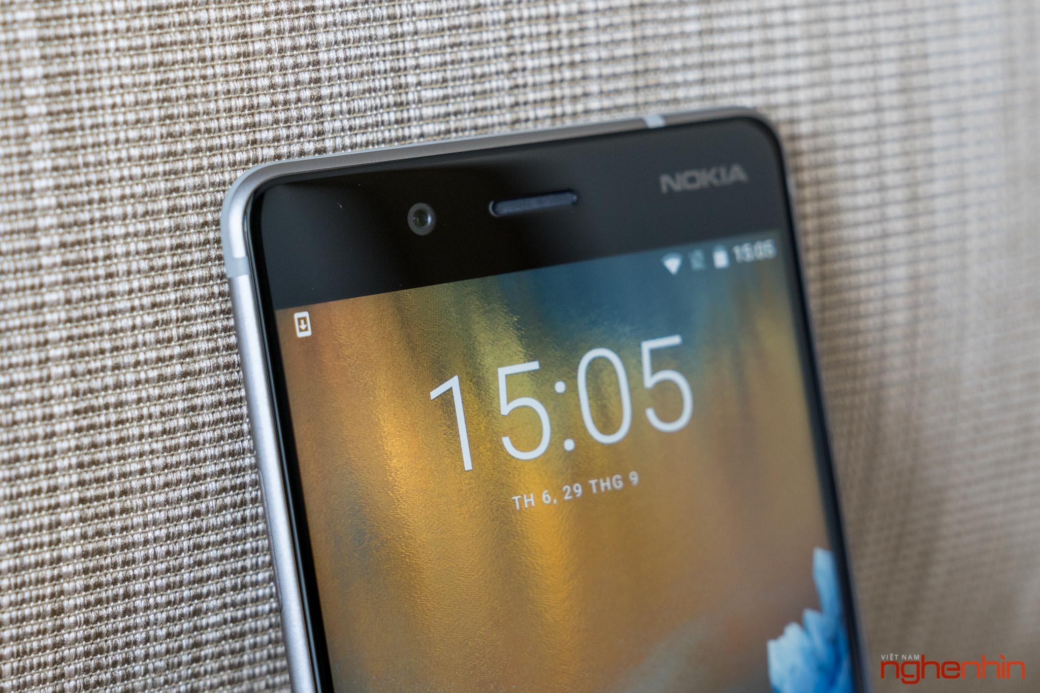 Mở hộp Nokia 8 chính hãng: hoàn thiện cao cấp, camera kép ống kính Zeiss ảnh 13