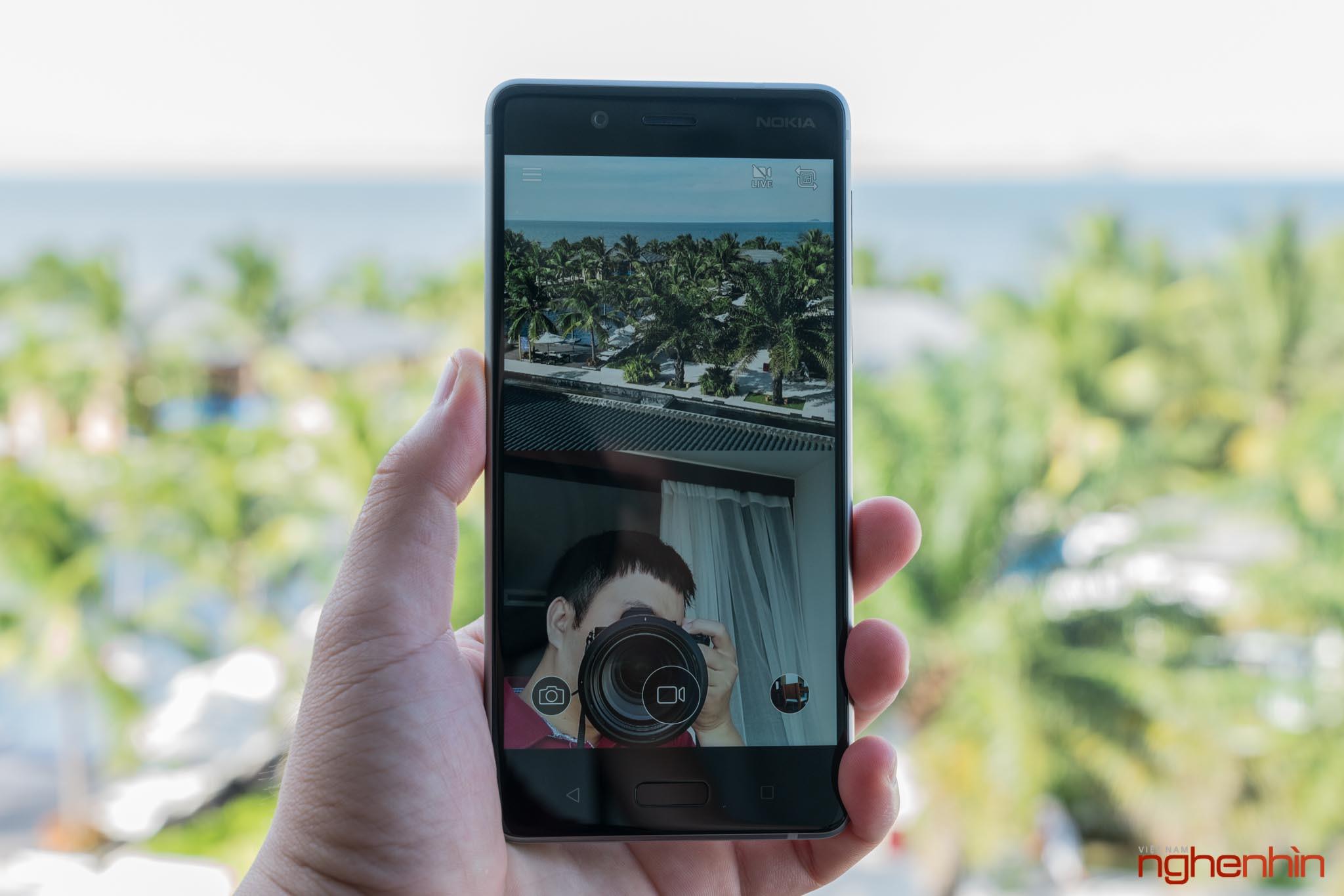 Mở hộp Nokia 8 chính hãng: hoàn thiện cao cấp, camera kép ống kính Zeiss ảnh 18