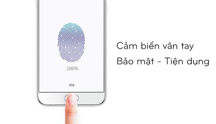 Galaxy A5 được trang bị cảm biến vân tay dạng chạm tích hợp ở phím Home, có thể mở khỏa chỉ với 1 thao tác chạm ở màn hình đang sáng. Ngoài ra vân tay còn nhiều tác dụng với nhiều dịch vụ mà Samsung đnag phát triển.