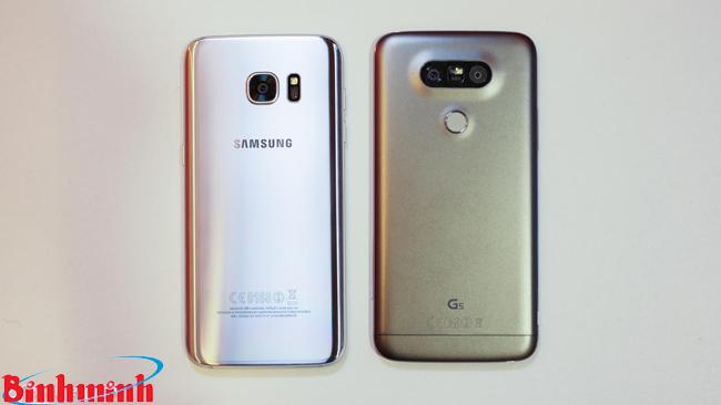 Samsung galaxy s7 edge và LG G5: Bạn sẽ chọn sản phẩm nào?