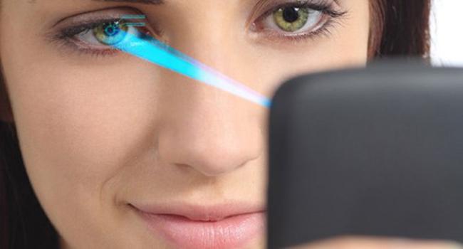 Tính năng quét võng mạc Samsung galaxy s7 edge và LG G5