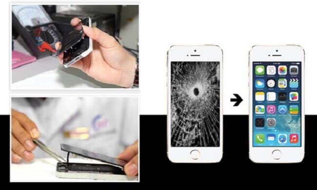 ép kính iPhone 7, 7 plus