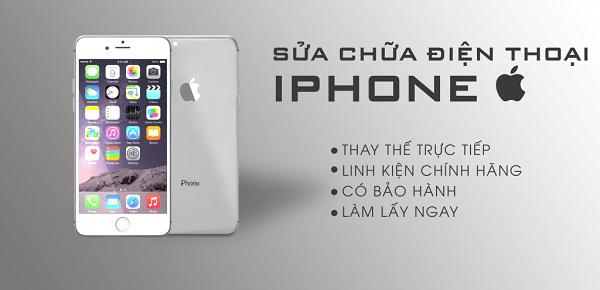 Sửa chữa iPhone uy tín chính hãng tại Thái Hà - Hà Nội