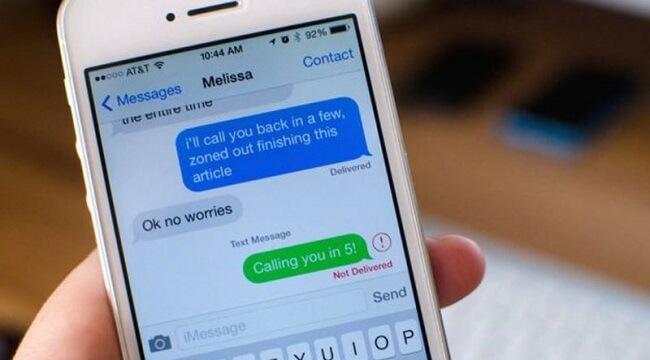 Sửa lỗi iphone lock không gửi được tin nhắn