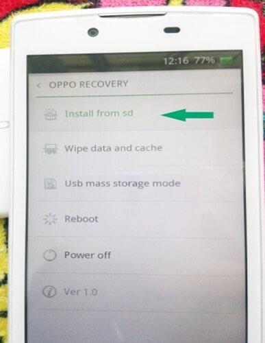 Sửa lỗi Oppo bị treo logo