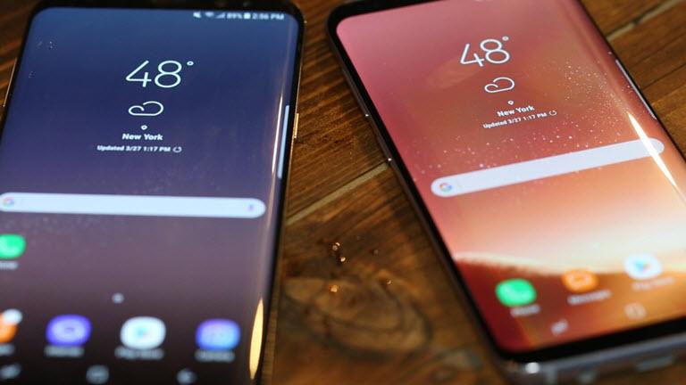 Thay mặt kính Samsung Galaxy S8/S8 Plus