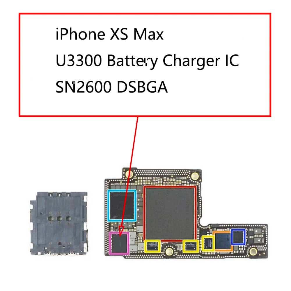 Khắc phục iPhone XS / XS MAX lỗi sạc trên IC sạc