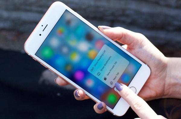 hình ảnh : iphone bị mất cảm ứng