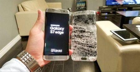 Công nghệ ép kính điện thoại Samsung chân không