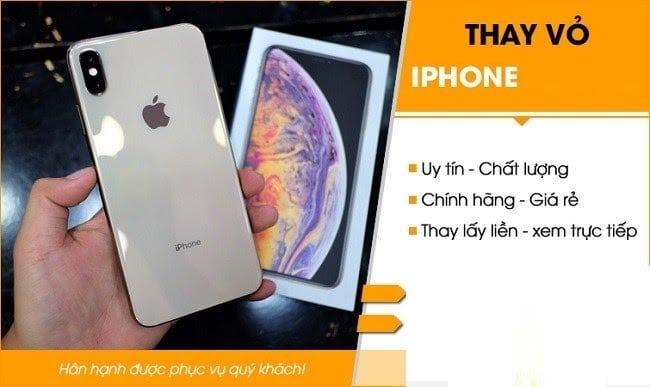 Dịch vụ thay vỏ điện thoại iPhone