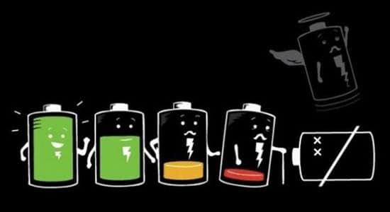 Điện thoại bị chai pin