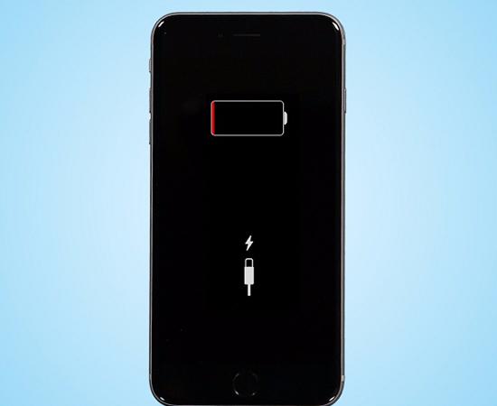 Điện thoại iPhone cạn pin