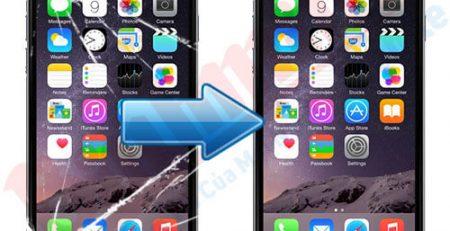 Ép kính điện thoại iPhone