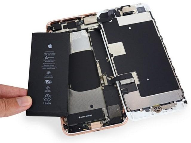 Pin iPhone 8 Plus bị hỏng