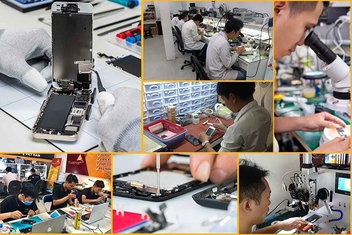Quy trình thay camera iPhone tại Bình Minh mobile