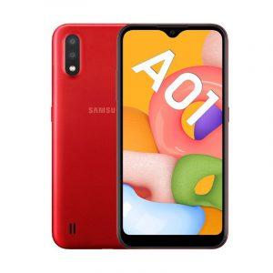 Samsung Galaxy A01 màu đỏ