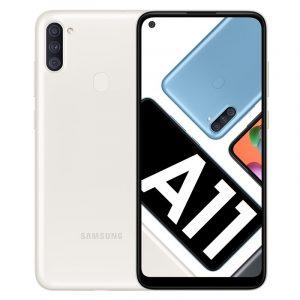 Samsung Galaxy A11 màu trắng