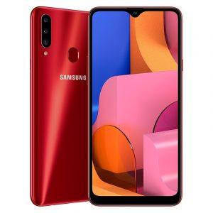 Samsung Galaxy A20s màu đỏ