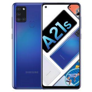 Samsung Galaxy A21s màu xanh