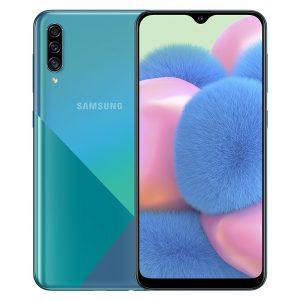 Samsung Galaxy A30s màu xanh lục