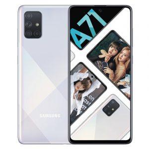 Samsung Galaxy A71 màu bạc
