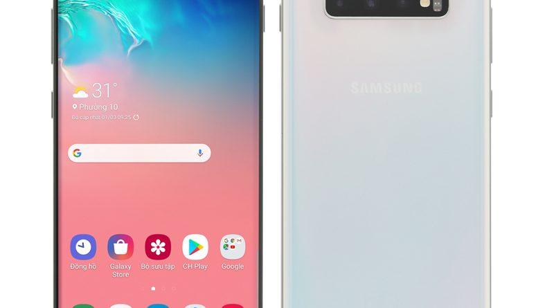 Samsung Galaxy S10 Plus màu trắng