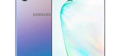 Samsung Note 10 màu bạc
