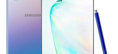 Samsung Note 10 Plus màu bạc