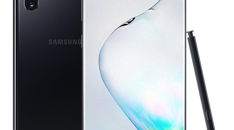 Samsung Note 10 Plus màu đen