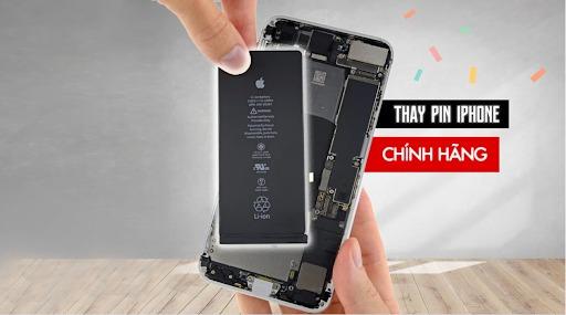 Thay pin điện thoại iPhone