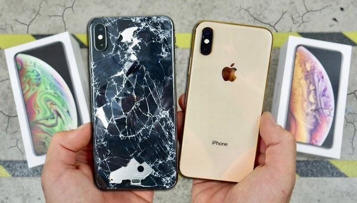Vỏ điện thoại iPhone cũ hỏng