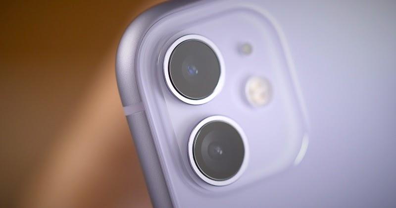 Camera iPhone 11 bị hỏng