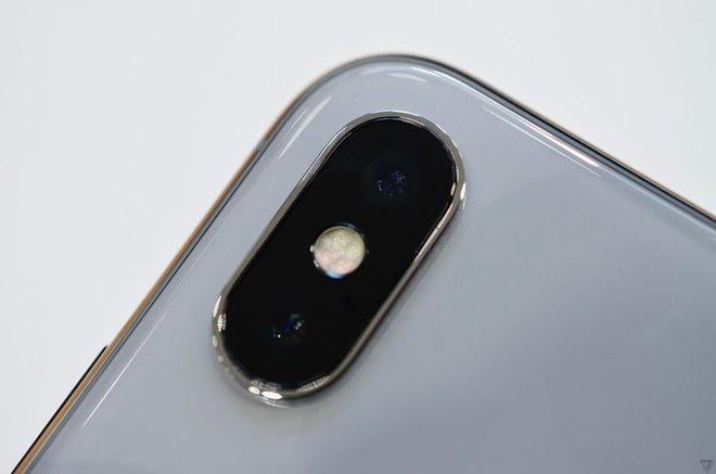 Camera iPhone X bị hỏng