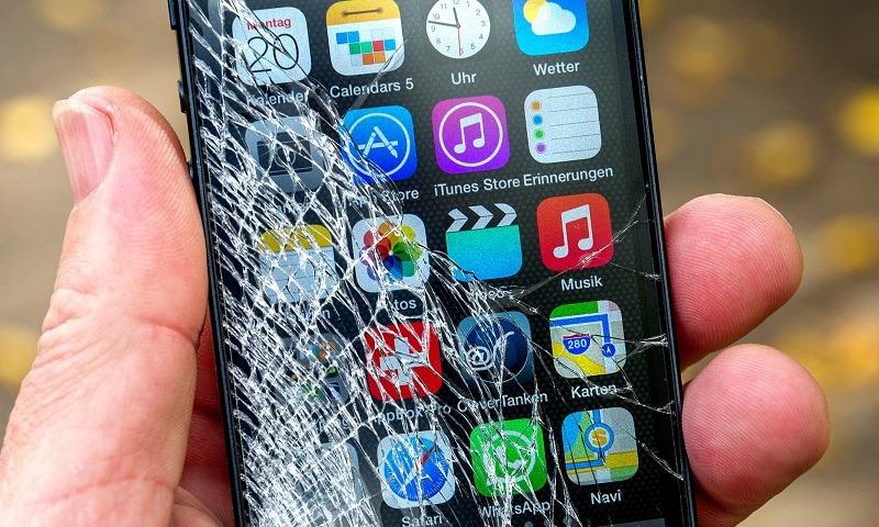Điện thoại vỡ màn hình