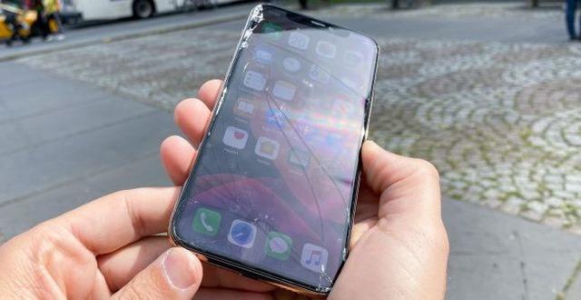 Màn hình iPhone 11 bị vỡ