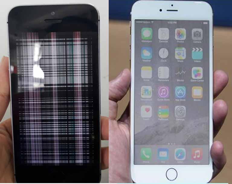 Màn hình iPhone bị lỗi