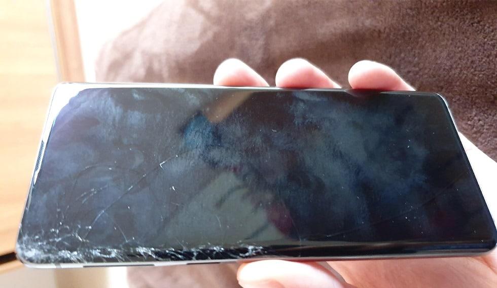 Màn hình Samsung s10 Plus bị vỡ