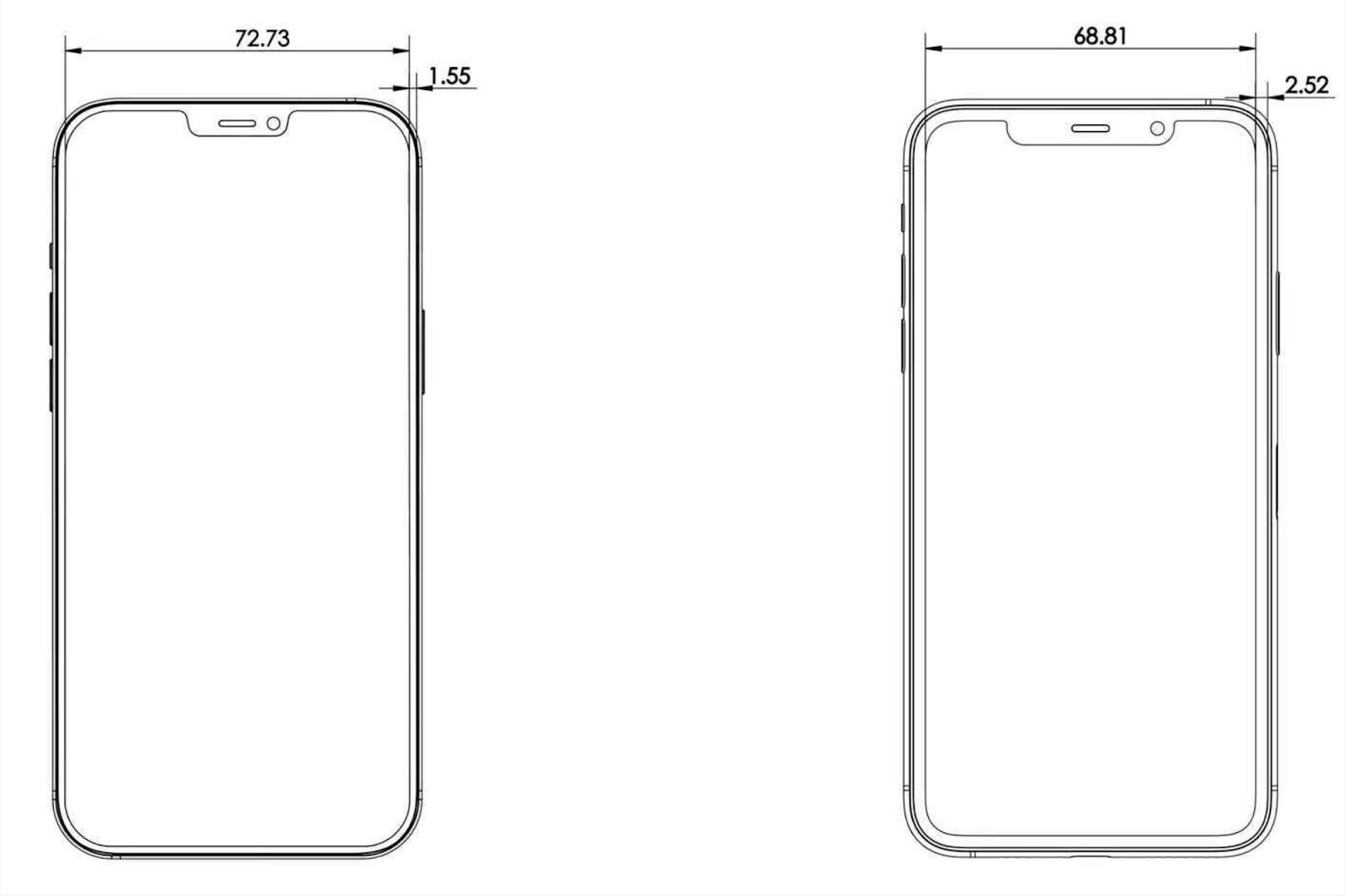 Mặt kính điện thoại iPhone 12